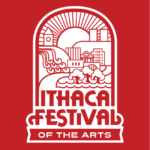 Ithaca Festival logo, CRCC will be in this year's parade